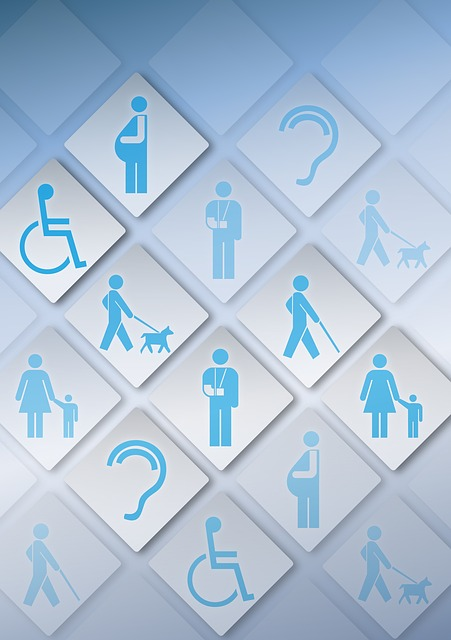 accessibility icons in a grid